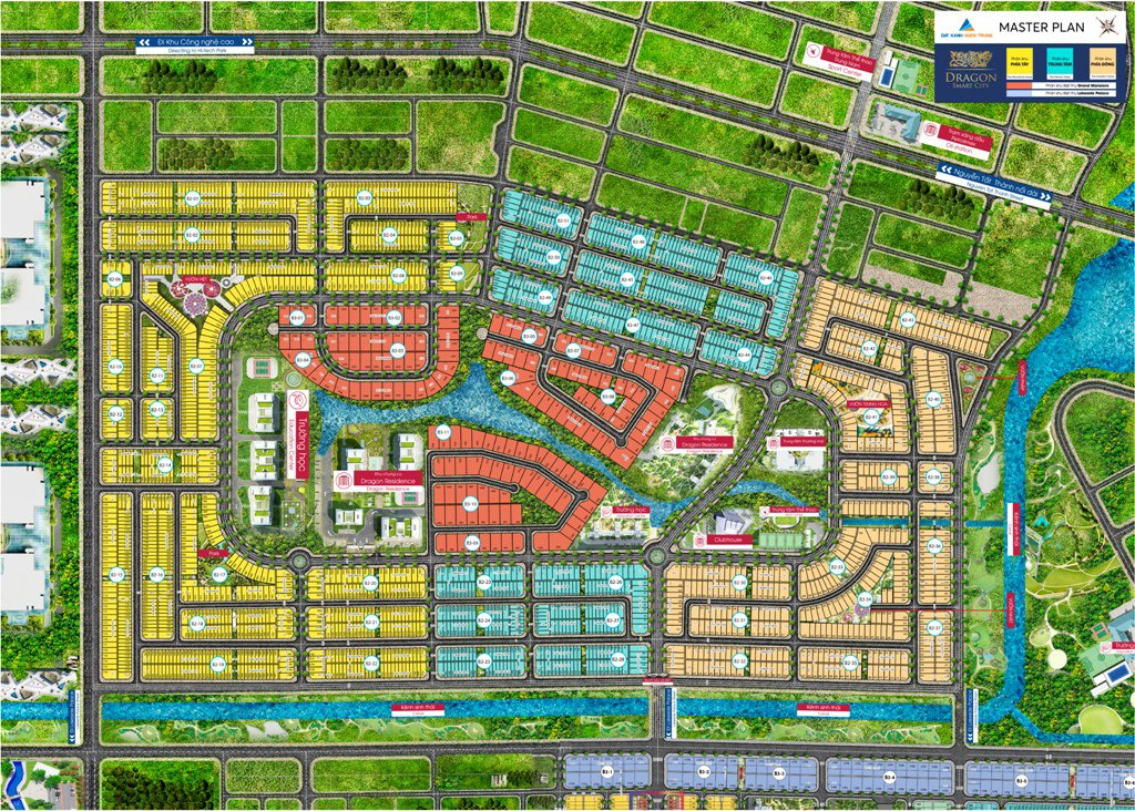 Master Plan Dự án Dragon Smart City