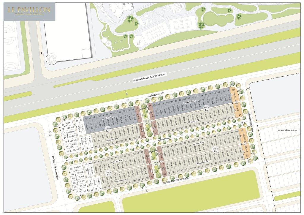 Master Plan dự án Le Pavillon
