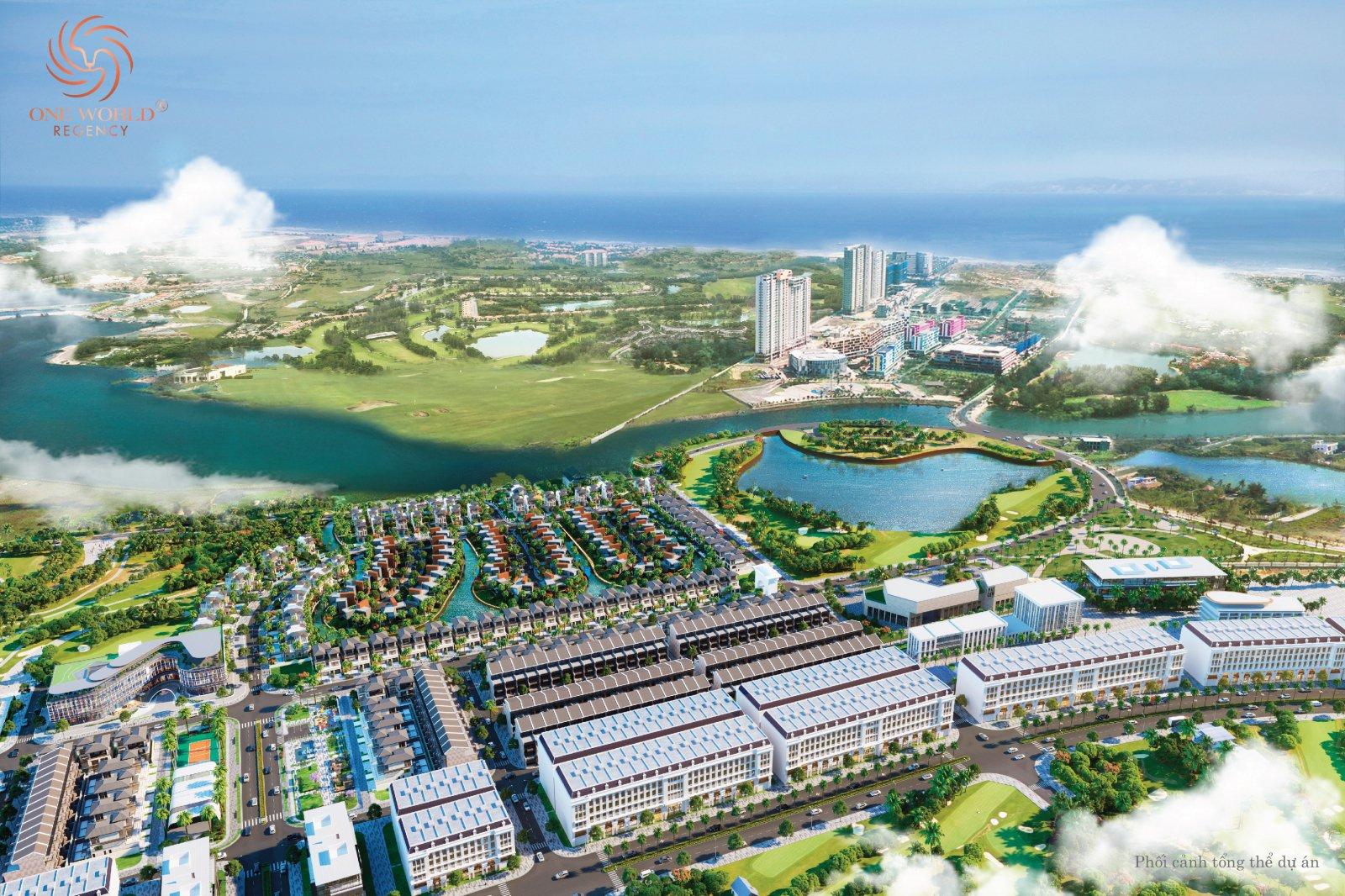 Khu đô Thị One World Regency - Đất Nền, Biệt Thư Đà Nẵng