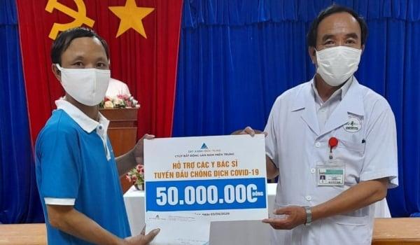 Công Ty CP BĐS Nam Miền Trung chung tay Phòng chống dịch Covid