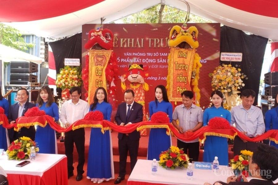 Công ty BĐS Nam Miền Trung khai trương văn phòng trụ sở tại Quảng Nam