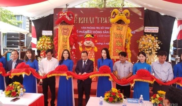 Công ty BĐS Nam Miền Trung khai trương văn phòng trụ sở tại Quảng Nam.